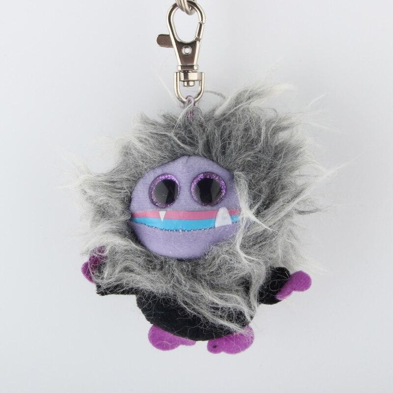 Ty Шапочка Боос большие глаза Плюшевые серый монстр брелок игрушка кукла TY подарок для маленьких детей
