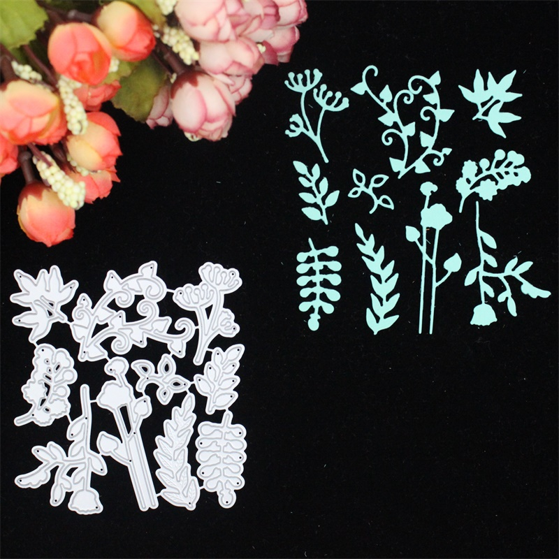 KLJUYP Multi Leaves Metal Cutting Dies Stencils for DIY Scrapbooking/photo album Decorative Embossing DIY Paper Cards