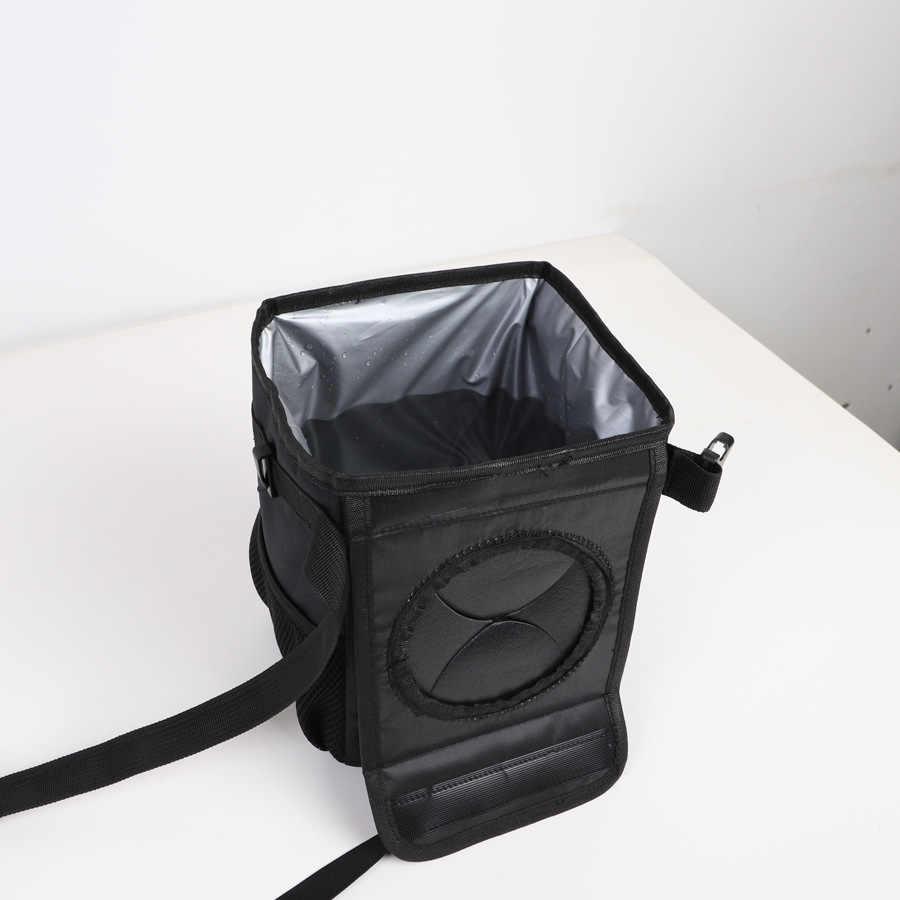 Креативный складной ящик для хранения автомобилей водостойкий задний ящик для хранения Автомобильная корзина для мусора мусорный бак