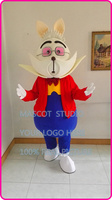 Mascotte Alice konijn Mascotte kostuum stripfiguur mascotte fancy dress kostuum carnaval