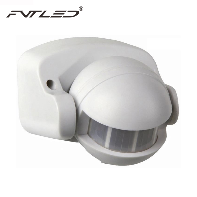 Awesome Energy Smart Waterproof Body Sensors Switch IR Infrared Motion Detector  Sensors 12M 180 Degree Outdoor Lighting