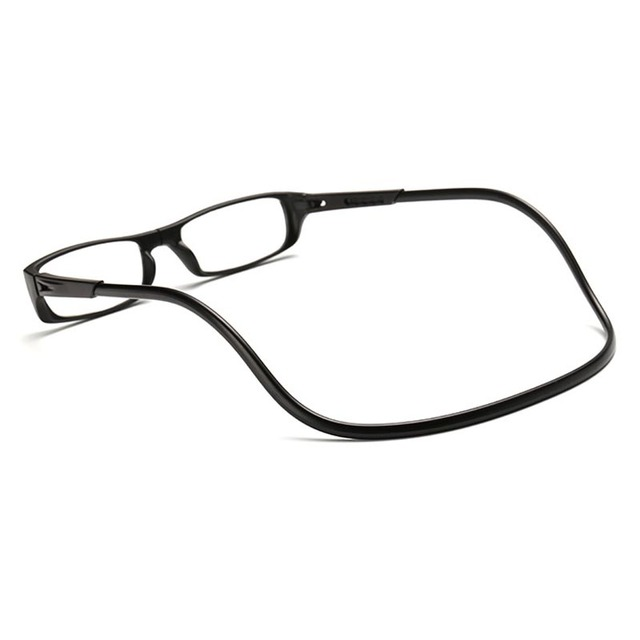 TFJ Magnetic Reading Glasses Men Women Transparent Colorful Adjustable hanging neck presbyopic glasses + 1.0 1.5 2.0 2.5 3.0 3.5 4.0