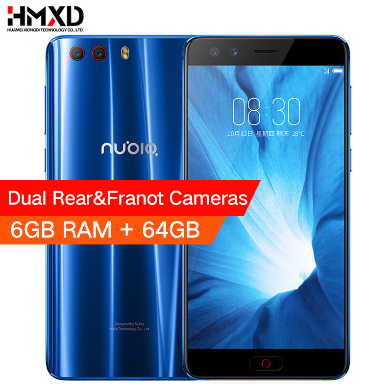 Original Nubia Z17 Mini S 6GB 64GB Mobile Phone 5.2