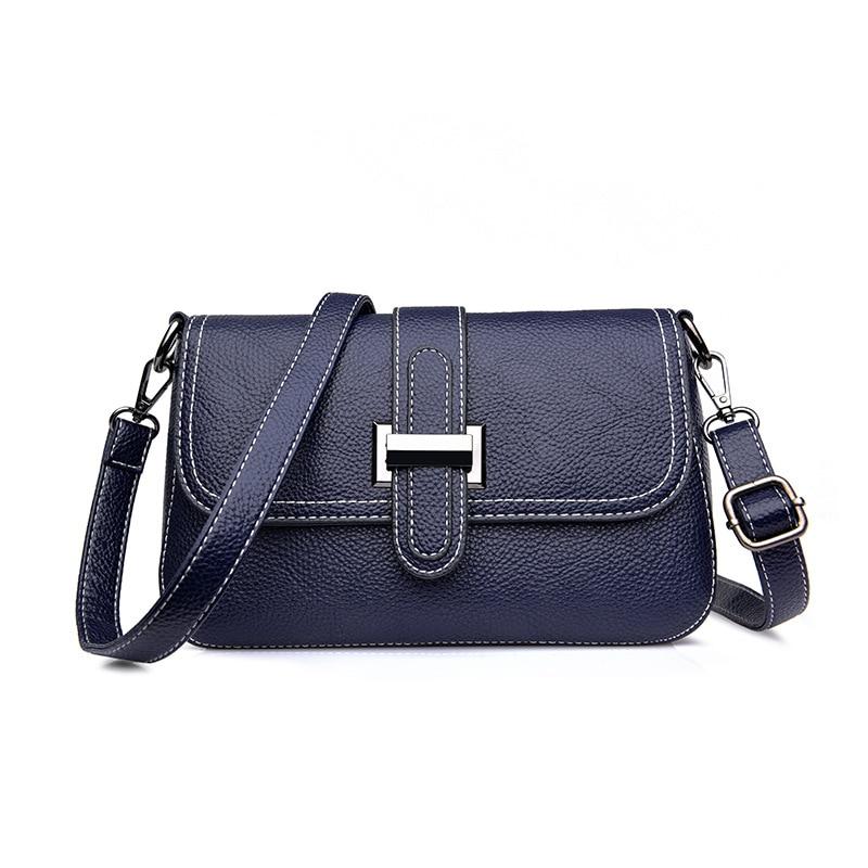 f188c3406e Di E Moda Messenger Bolsas rosso Giallo Borsa Femminile colore Nero blu  Borse Piccolo Lembo Americane ...
