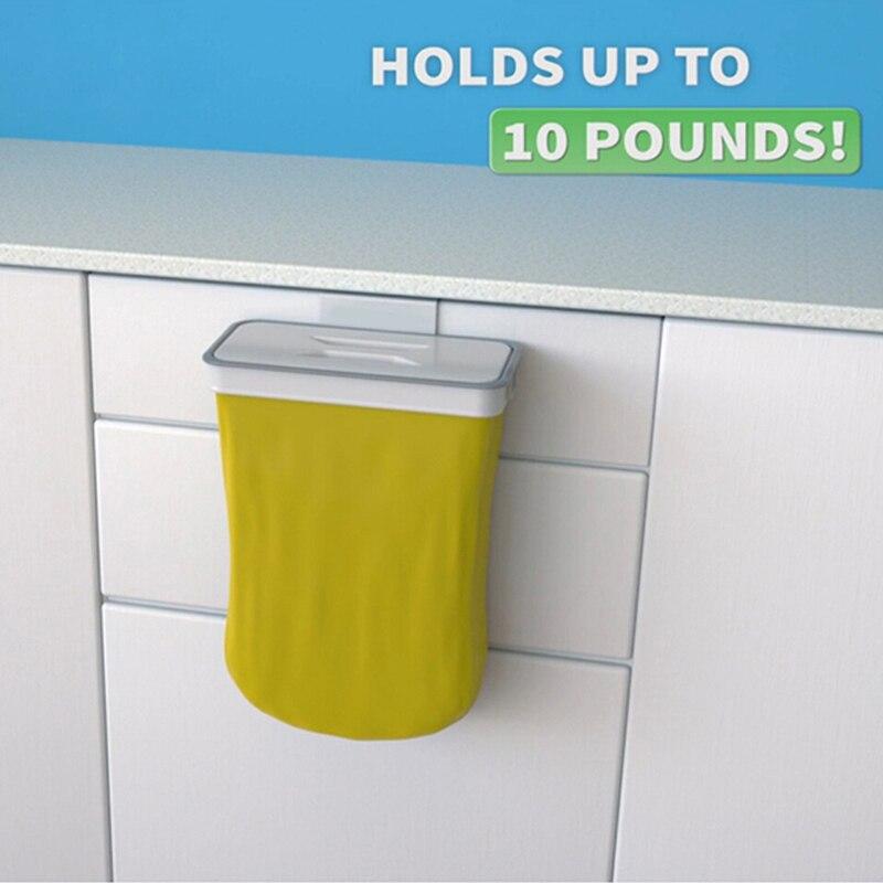 bolsa de basura Para Cocina baño almacenamiento de armario colgando