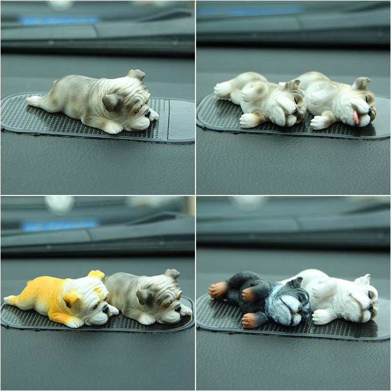 anime baby toys Warm Sleeping Series bulldog dog doll action & toy figures doll diy Micro-landscape dog toys