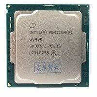 Intel PC Desktop computer Pentium Processor G5400 3.7G 512KB 4MB CPU LGA 1151 land FC LGA 14 nanometers Dual Core CPU