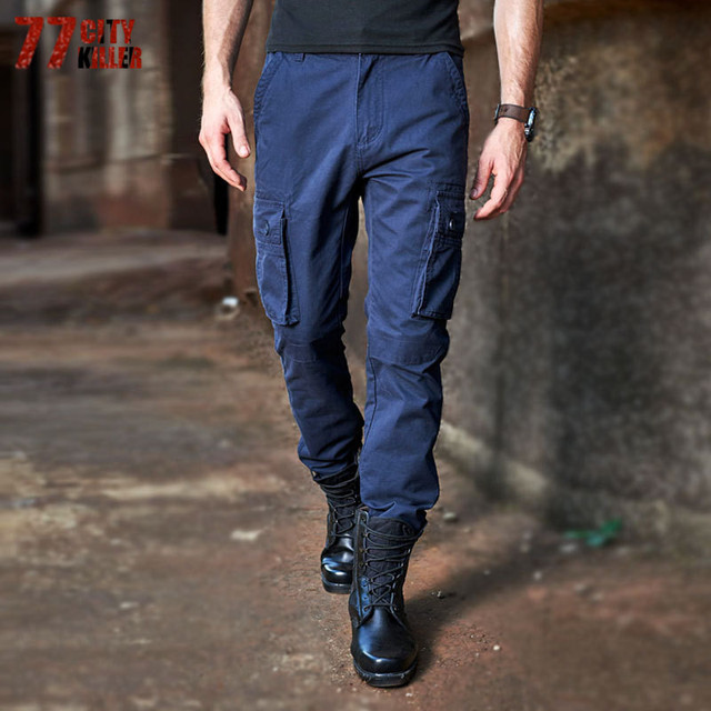 7fe9230c 77City Killer Military Men's Trousers 2017 New Autumn Air Force Leisure  Long Pants Khaki Travel Overalls For Male P685