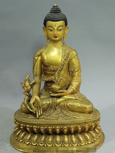 9 tibet buddhism temple bronze gold shakyamuni sakyamuni amitabha