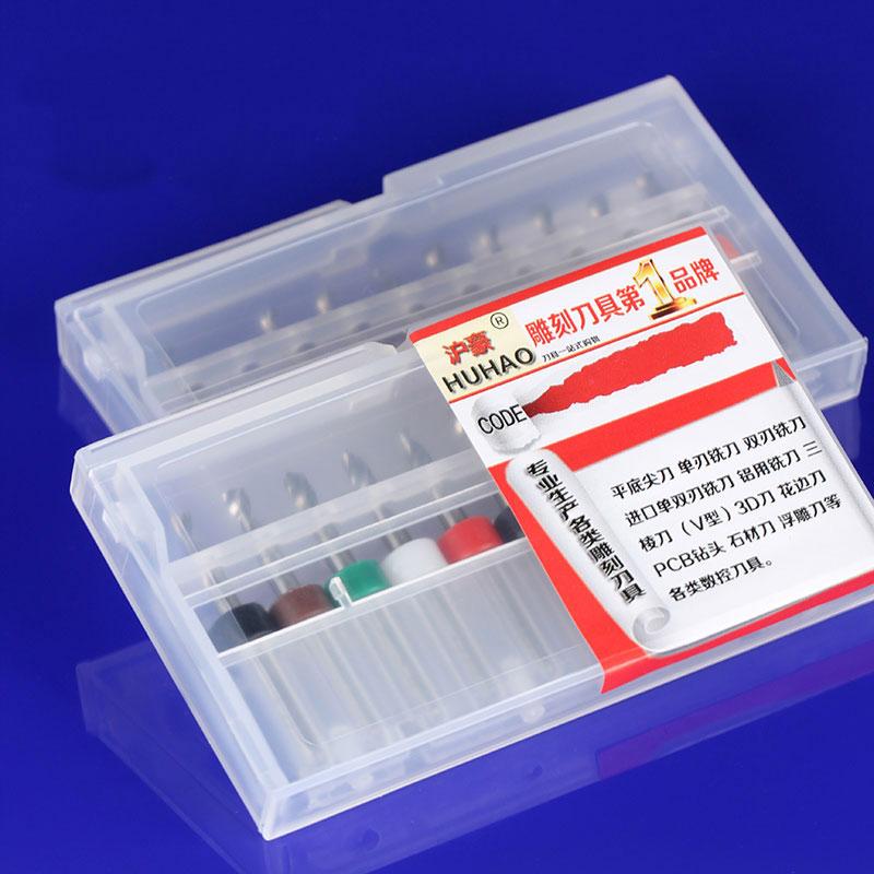 10 szt. 3.175 mm Wiertła z węglików spiekanych Mikro grawerowanie - Obrabiarki i akcesoria - Zdjęcie 6