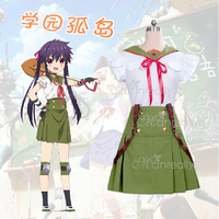 Gakkou Gurashi! Ebisuzawa Kurumi Japanese anime school uniform cosplay costume customize for any size