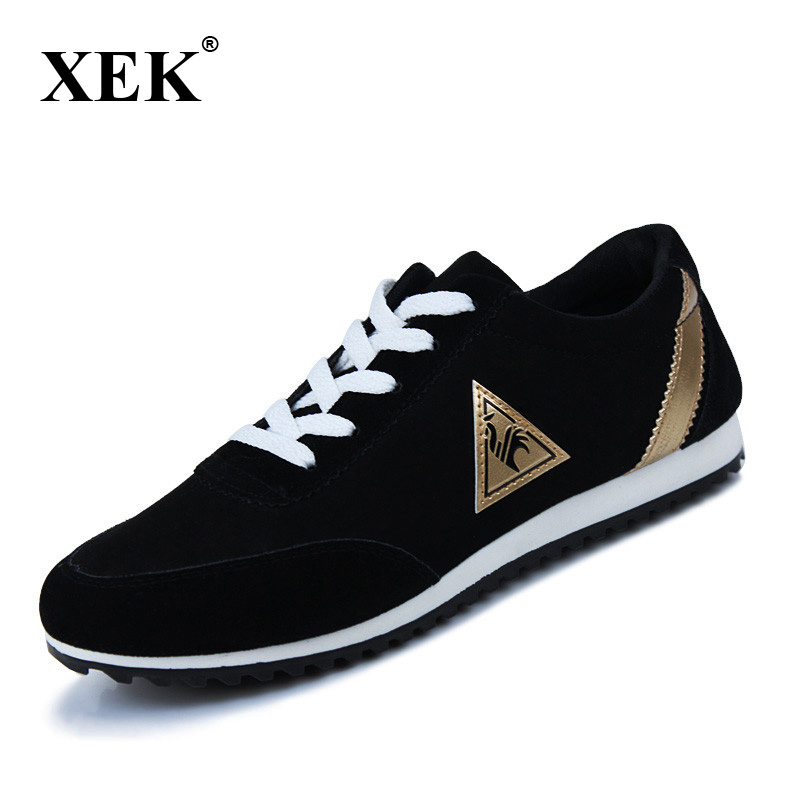 XEK 2017 font b Men b font Running font b Shoes b font Breathable Male Sneakers