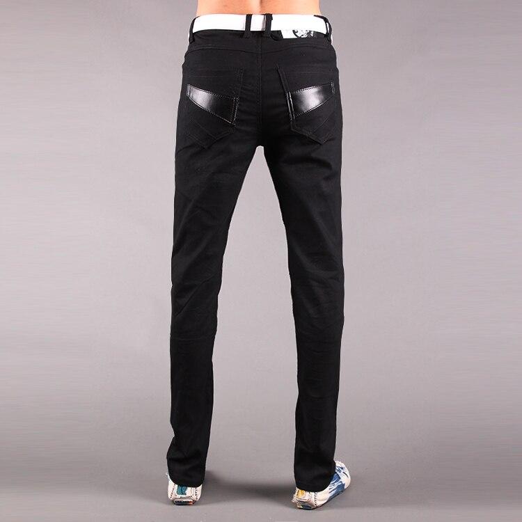 Pantalon Survêtement Blanc Casual Zipper Noir Les Automne 29 Nouvelle Mode Hop Coréenne Hommes 33 Pantalons Jeunes Mens Serré Noir Jeans Pour blanc 2019 De Hanche Chaude 8zwR6Cqanx