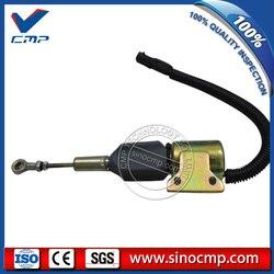 3935430 3935432  SA-4755-24  SA-4892-24  3939703 6BT 24v 5.9L do koparek zatrzymania paliwa zawór elektromagnetyczny dla Cummins