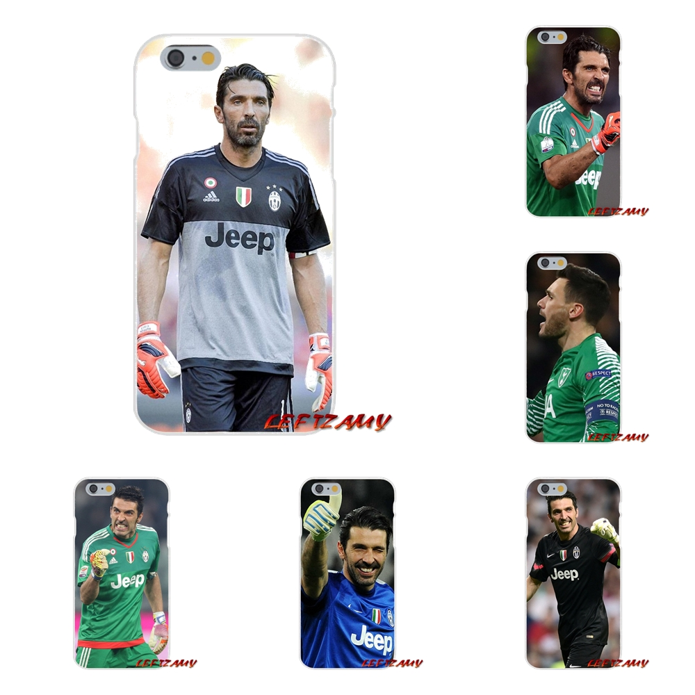 Gianluigi Buffon Juventus Soccer Star Slim Silicone phone Case For iPhone X 4 4S 5 5S 5C SE 6 6S 7 8 Plus