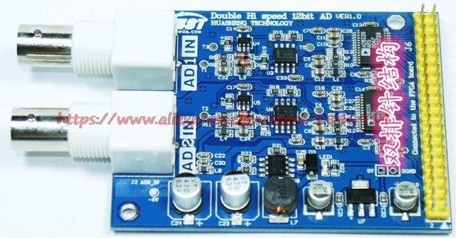 Free shipping AD9226 high speed 12bit AD dual channel module FPGA control program sensor
