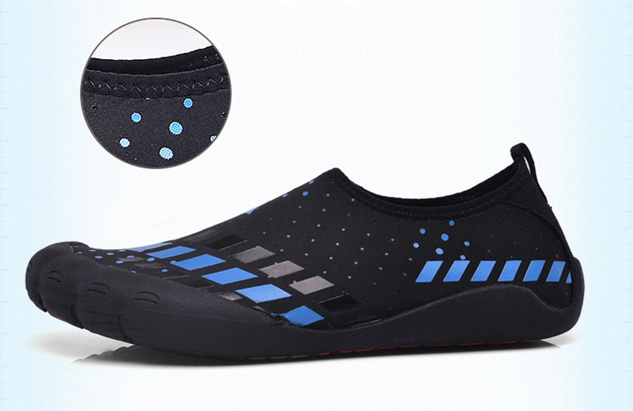 1cfcbf79a566 JACKSHIBO Summer Men Sandals Slipony Water Shoes Quality Large Size Sandalias  Male Waterpark Sandals Aqua Slippers for Beach