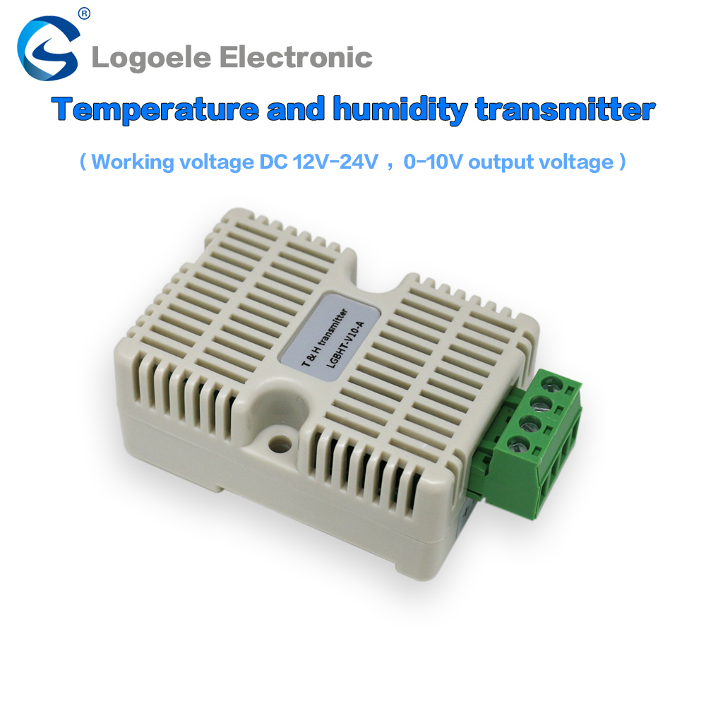 Temperature and humidity detection sensor SHT10 temperature and humidity transmitter 0-5V 0-10V voltage signal output картридж lomond l0206026 10 sht