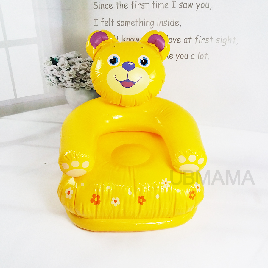 Inflatable furniture for kids - For Kid 3 8 Years Old Cute Portable Cartoon Animal Style Children Chairs Lovely Inflatable