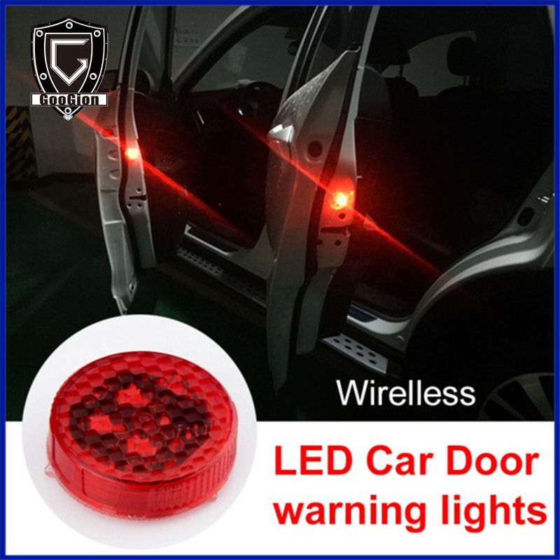 Car Door Safety Reflector Anti Collision Warning Led