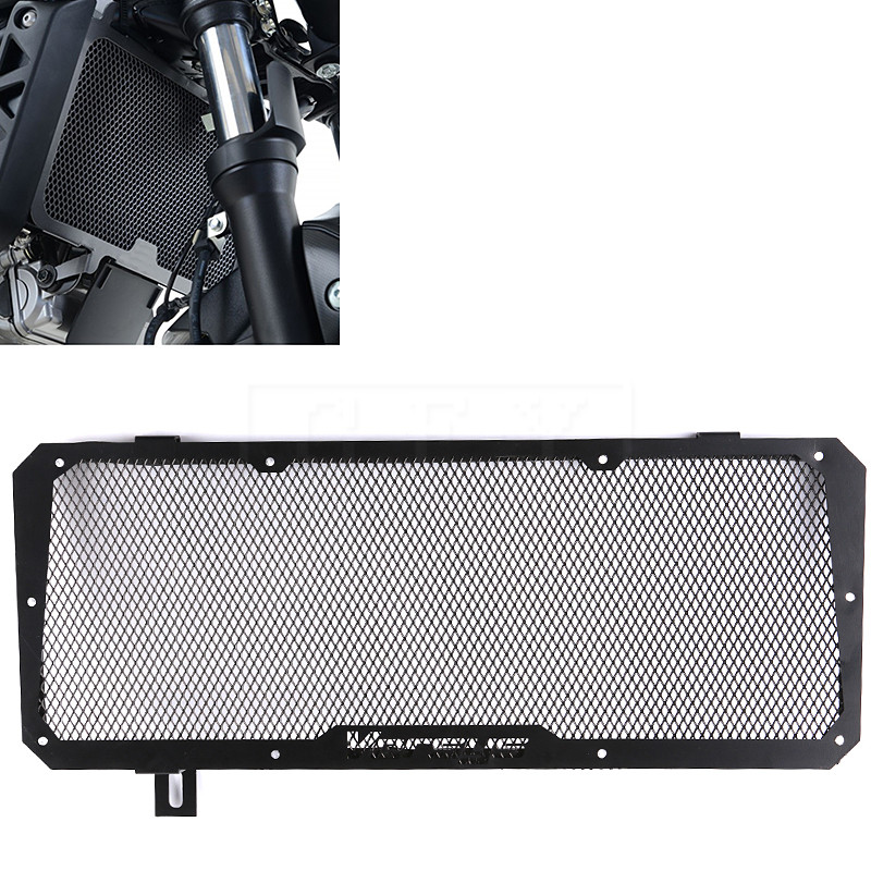 Motorcycle Radiator Side Guard Stainless Steel Cover Grille Protector Guard For Kawasaki Versys 650 2015 2016 2017 Accessories motorcycle radiator grill grille guard screen cover protector tank water black for bmw f800r 2009 2010 2011 2012 2013 2014