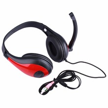 TYAYA Wired Headphone Headset three.5mm Stereo Sound Earphone Adjustable Professional Gaming Headset With Mic Audio Cable For Desktop PC Recreation