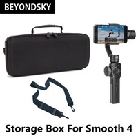 Zhiyun Smooth 4 Shoulder Bag Waterproof Travel Storage Box Handheld Smartphone Gimbal Stabilizer Portable Case Carrying Handbag
