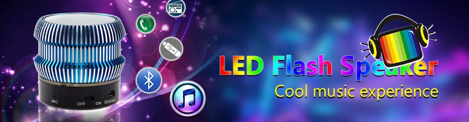 LED Flash Speaker