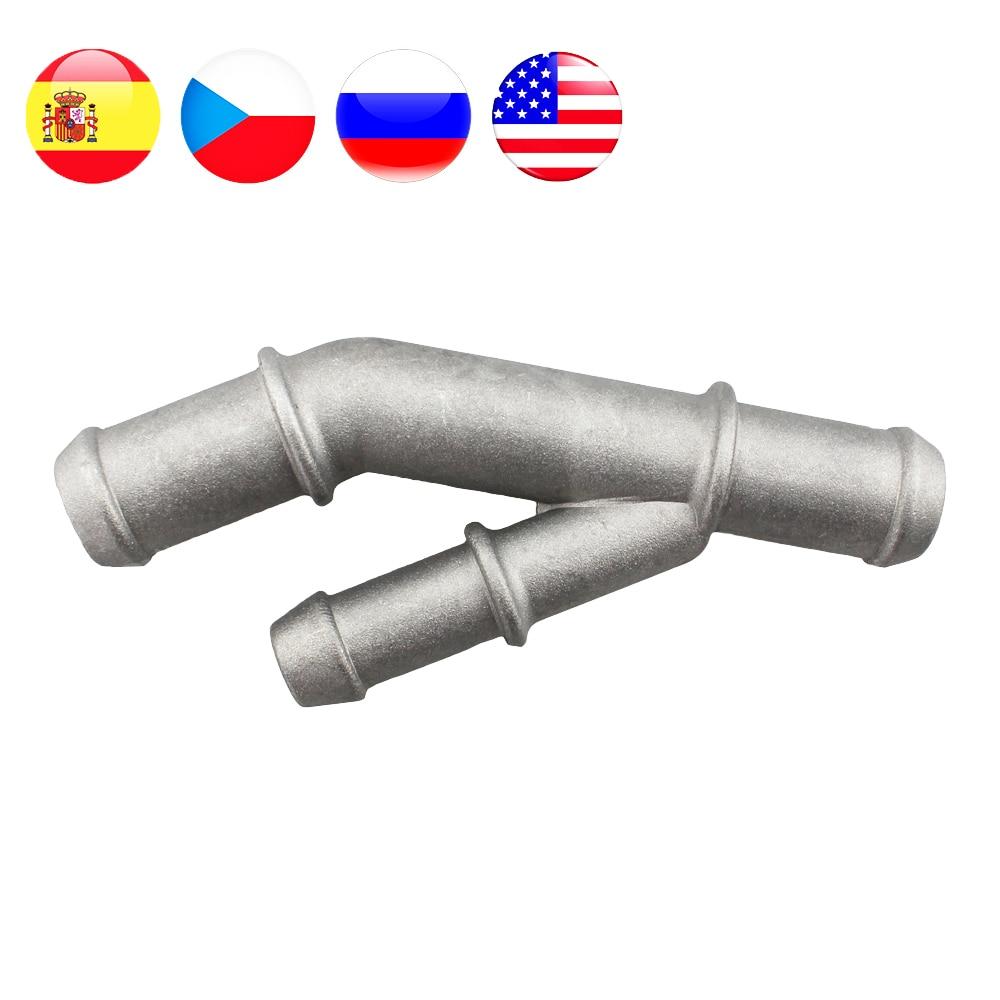 Aluminium Alloy Cooling Coolant T Fitting Hose Pipe