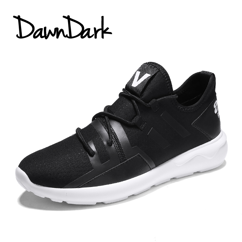 Running Shoes for Men Spring Summer Male Sport Walking Sneakers Lightweight Lace Up Black Red Man Sports Running Shoes