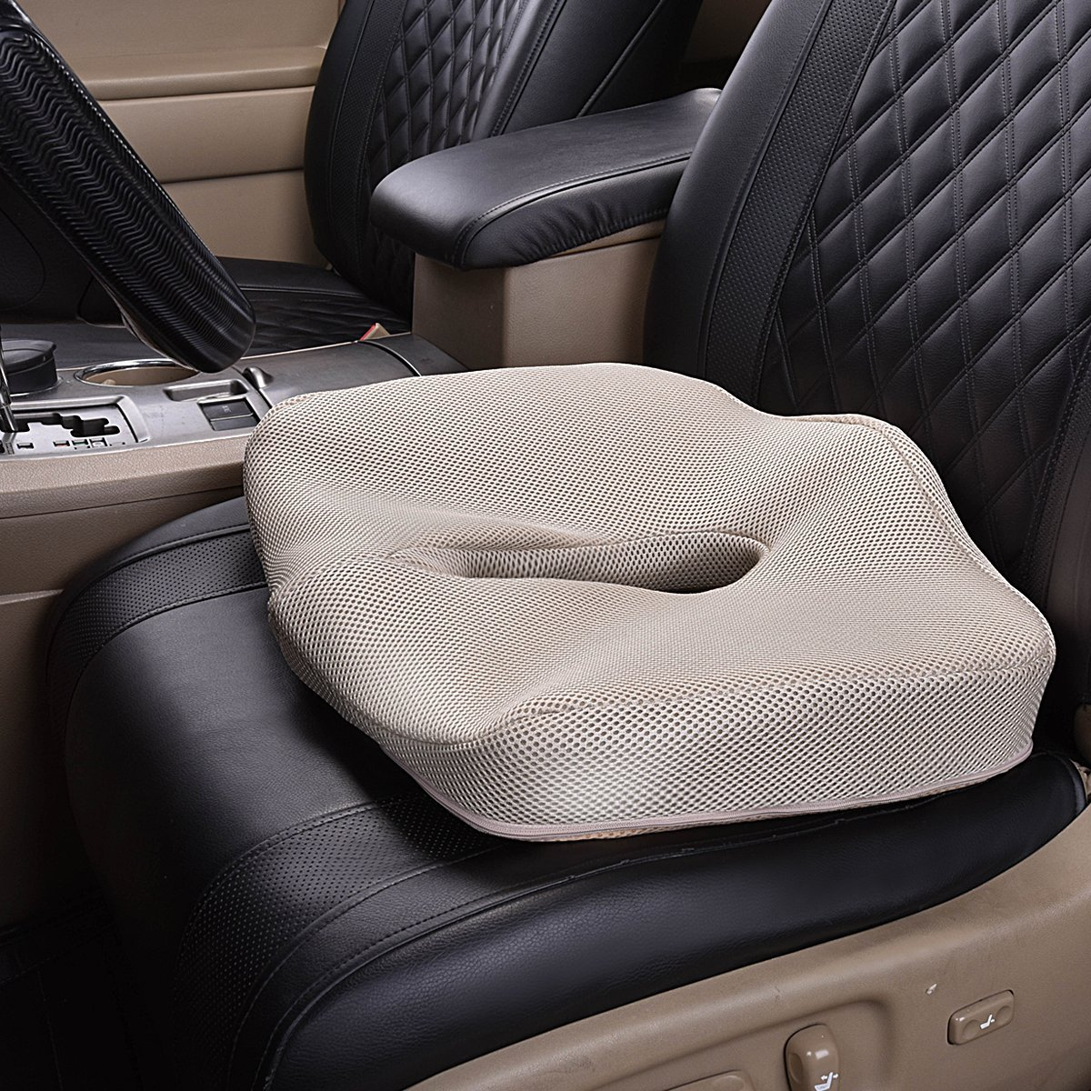 MEMORY FOAM Asiento Cojín de masaje para silla Oficina, vehículos, - Accesorios de interior de coche - foto 2