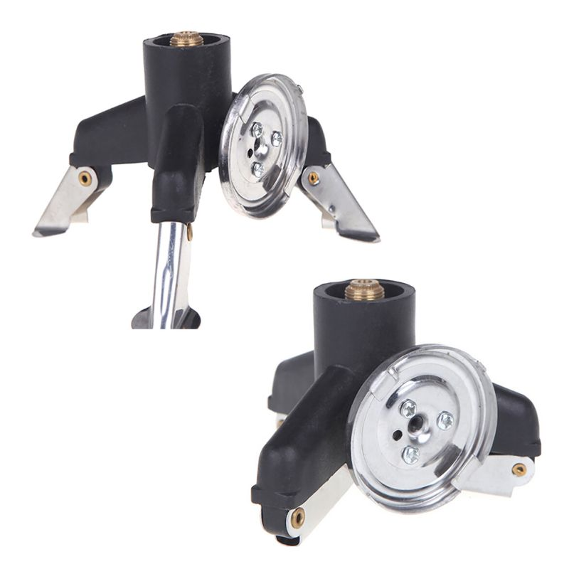 Outdoor Stoves Sports & Entertainment Outdoor Camping Gas Stove Adapter Three-leg Transfer Head Adaptor For Nozzle Gas Bottle Screwgate Stove Gear Accessories Hot