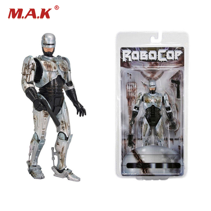 7 inches Robocop Action Figure Battle Damaged Ver. Model Toys for Collections robocop action figure 7 battle damaged ver murphy model toys best kids gifts collections