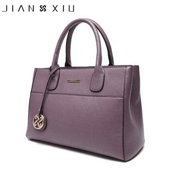 JIANXIU Luxury Handbags Women Bags Designer Genuine Leather Shoulder Crossbody Bag Purse Ladies Hand Bags High Quality Tote Bag