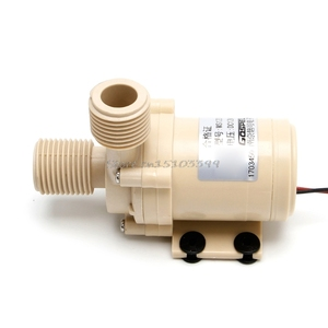 Image 2 - שמש משאבת 12V DC חם מים משאבת 3M זרימת Pompe Brushless מנוע גבוהה לחץ משאבת מזון כיתה משאבת G25 DropShip