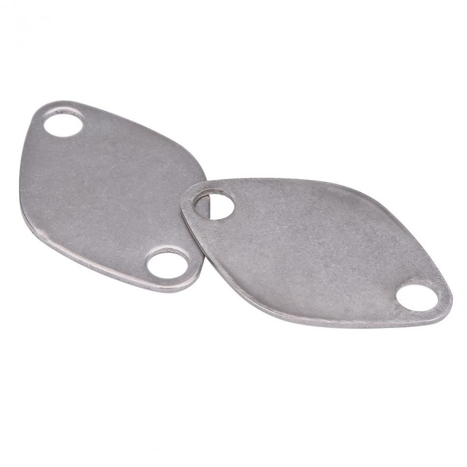 2 шт. EGR клапан заглушка блок пластина комплект для RENAULT ESPACE Лагуна мастер трафик VAUXHALL MOVANO EGR клапанная пластина