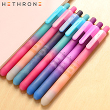 Buy Hethrone 4pcs purple Starry Sky Dream Gel Pen calligraphy supplies office School stationery Painting writing spring Gel caneta directly from merchant!