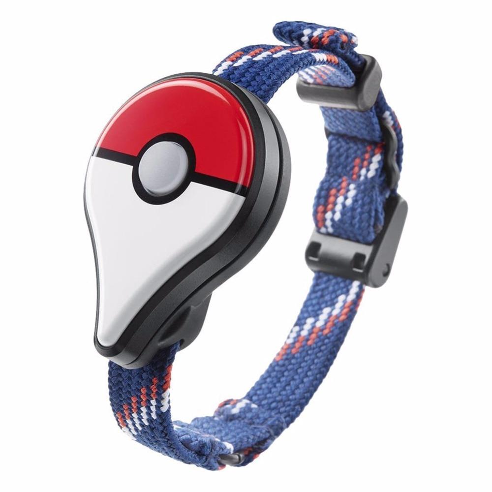 Para Pokemon Go Plus Bluetooth pulsera reloj de pulsera accesorio del juego para Nintendo para Pokemon ir más bolas pulsera inteligente