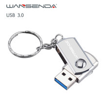 Wansenda металлический usb флеш накопитель 256 ГБ 128 Гб 64