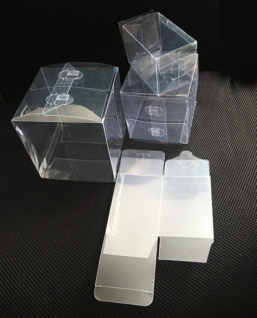 Retail Wedding Favor Gift Storage Clear Pvc Plastic Boxes For Candy