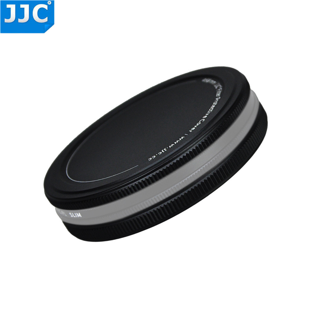 JJC 37mm 40.5mm 46mm 49mm 52mm 55mm 58mm 62mm 67mm 72mm 77mm 82mm UV CPL ND Filter Metal Filter Stack Cap Protector Cover Holder