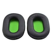 1 Pair Sponge Soft Foam Cushion Replacement Earphone Ear Pads Earpads for RAZER BlackShark Stereo Gaming Headphones Headset 1 pair earphone ear pads earpads sponge soft foam cushion replacement for blackshark stereo gaming headphones headset