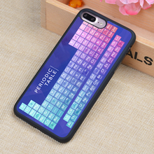 Periodic Table Awesome Science Soft TPU  Mobile Phone Cases Fundas For iPhone 6 6S Plus 7 7Plus 5 5S 5C SE 4 4S Back Cover Shell