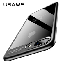 For iPhone 6S Case USAMS Ultra Slim TPU&Acrylic Cover Case for iPhone 6 6S Plus Full Protective Shell iPhone6 Coque Fundas