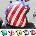 LDMET casco moto винтажный мотоциклетный шлем jet capacetes de motociclista vespa cascos para moto Кафе racer с открытым лицом