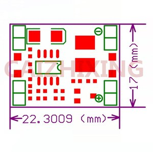 Image 5 - AEAK 100 قطعة فائقة صغيرة الحجم DC DC تنحى وحدة امدادات الطاقة 3A قابل للتعديل محول فرق الجهد لاردوينو استبدال LM2596