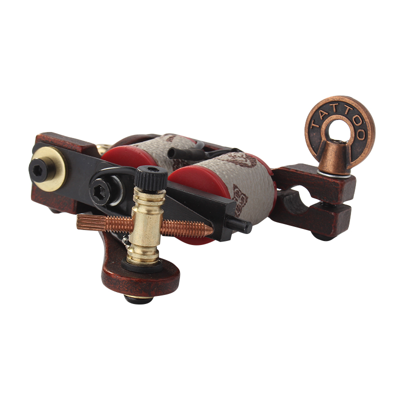 Hot Sales Coil Tattoo Machine Copper 10 Wrap Coils Steel Tattoo ...