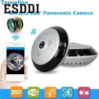 New 360 Panoramic Fisheye HD Wireless WIFI Cam Home Security Network IP Mini Camera Professional Safety