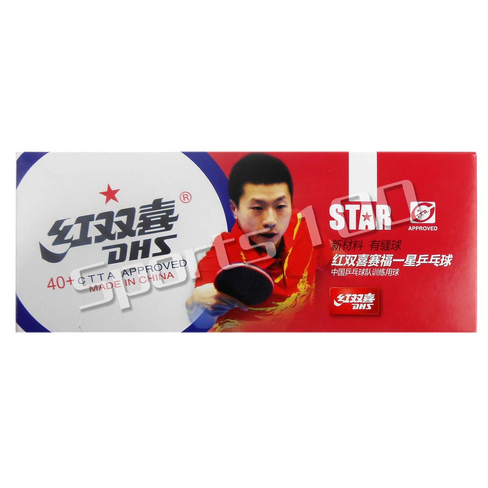 10x DHS 40+ New Materials 1-Star 1 Star 1Star White Table Tennis PingPong Balls 2015 Factory At A Loss Direct Selling