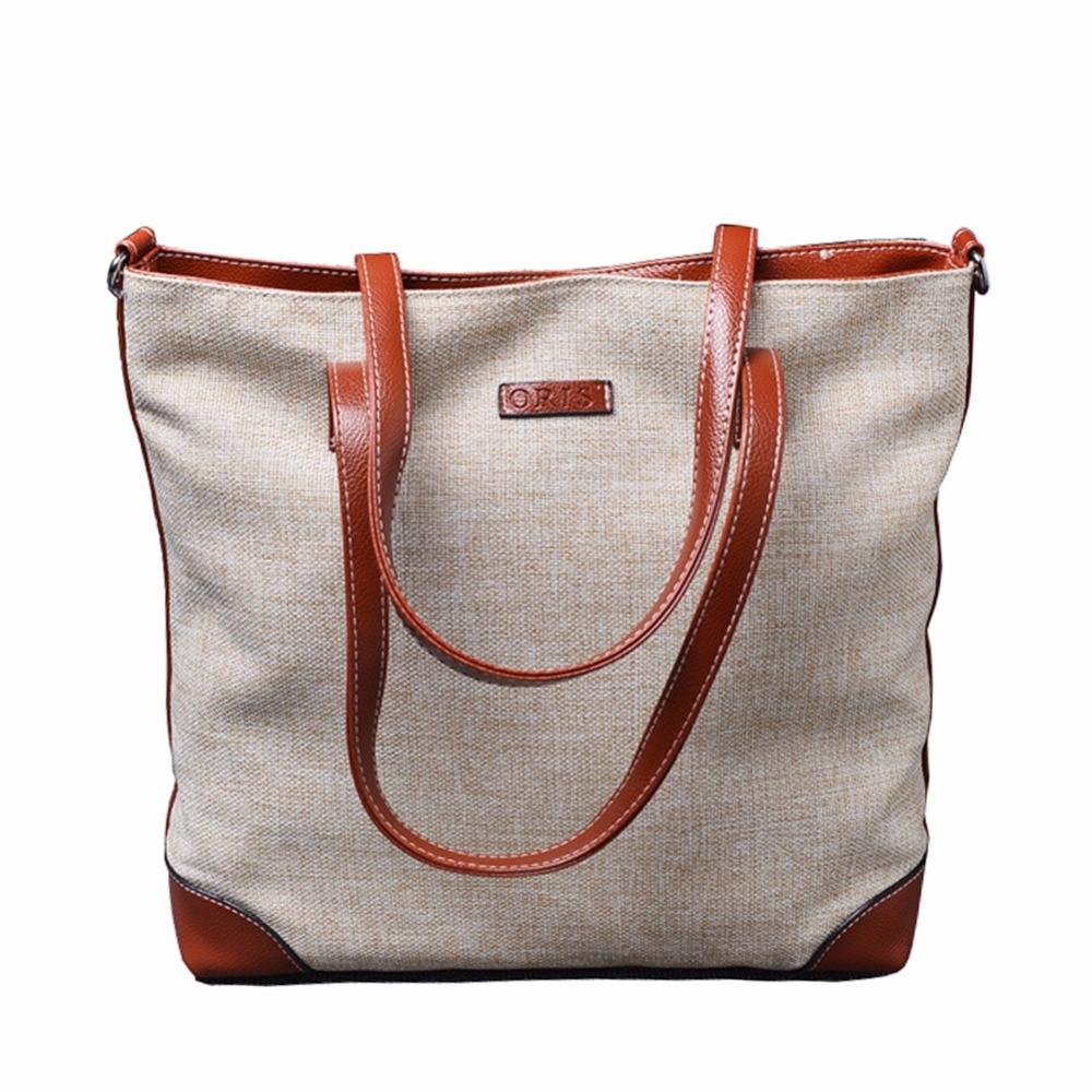 ZENTEII Women Canvas Handbag S Bag